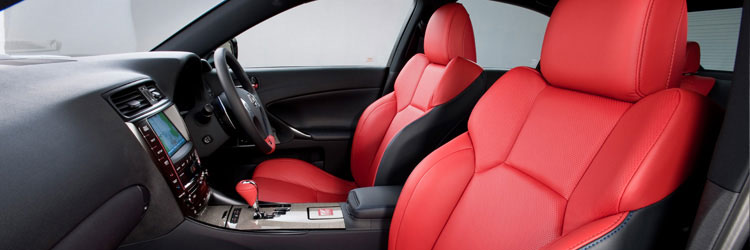 Lexus IS F Red Special Edition Interior 2
