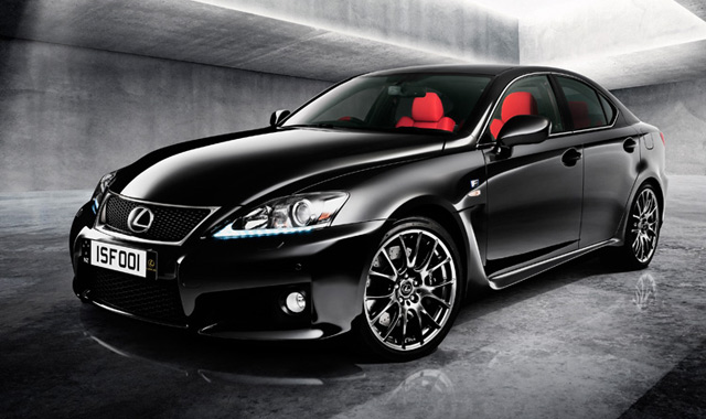Lexus IS F Red Special Edition