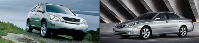 Lexus RX 330 & ES 330