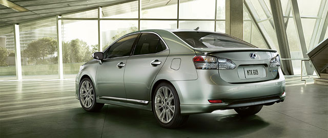 Lexus HS 250h Cancelled