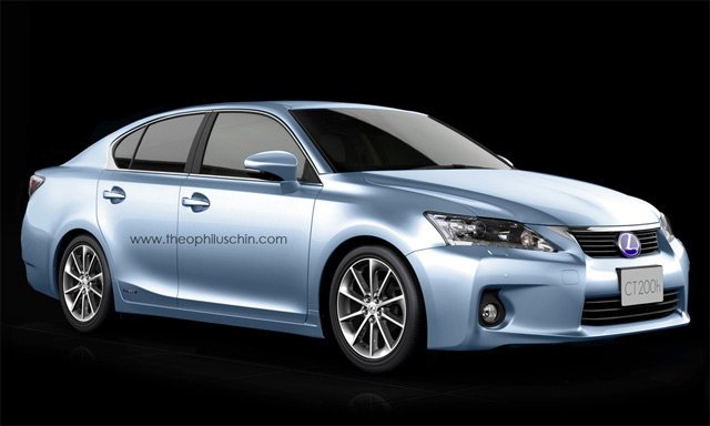 Lexus CT 200h Sedan Front