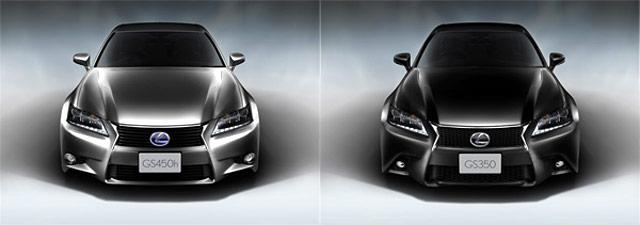 Lexus GS 450h & GS 350 F Sport