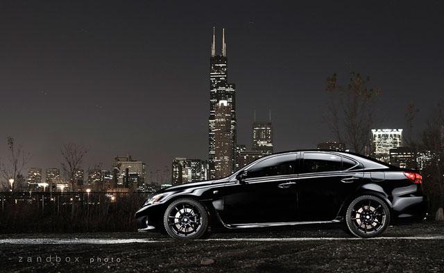 Zandbox Lexus IS F Side Profile
