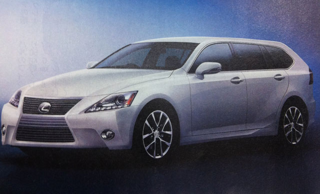 2013 Lexus IS Wagon