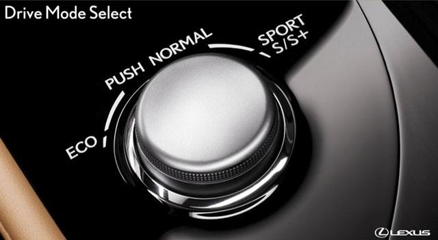 Lexus GS Drive Mode Select
