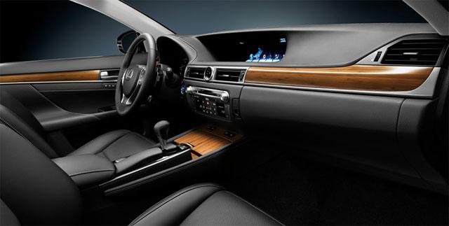 Lexus GS Hybrid Interior