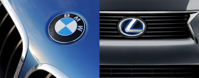 Lexus & BMW Partnership