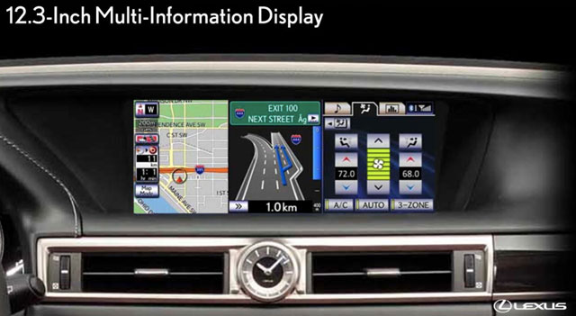 Lexus GS Information Display