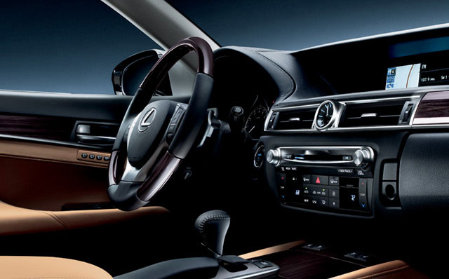 Lexus GS Interior Close-up