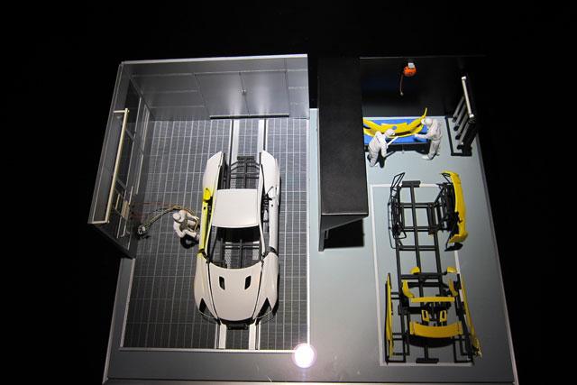 Lexus LFA Diorama Tokyo Motor Show