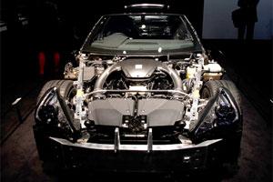 Lexus LFA Naked