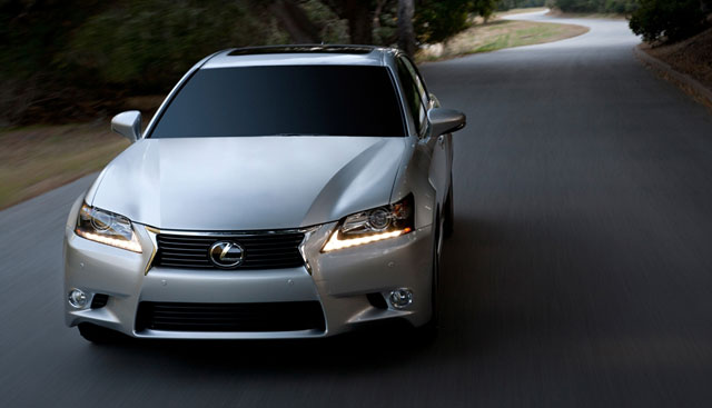 Winding Road Lexus GS 350