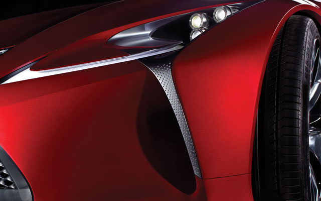 Lexus Concept NAIAS Desktop Wallpaper