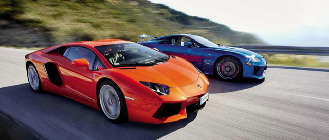 Car Comparison Lexus Lfa Vs Lamborghini Aventador Lexus Enthusiast