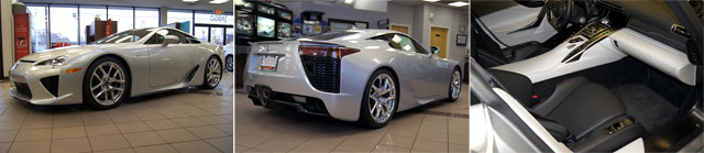 Lexus LFA for Sale on eBay