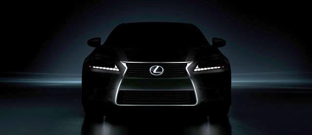 2013 Lexus GS Teaser