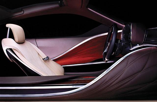 Lexus Concept Interior NAIAS