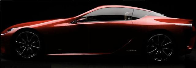 Lexus LF-LC Composite Image