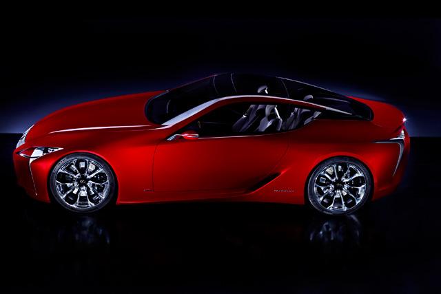 Lexus LF-LF Top View