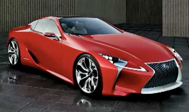 Lexus LF-LC Revealed