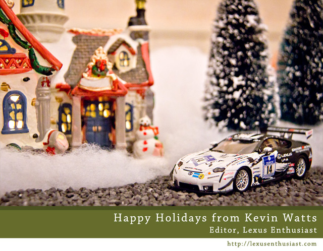 Lexus Enthusiast 2011 Happy Holidays