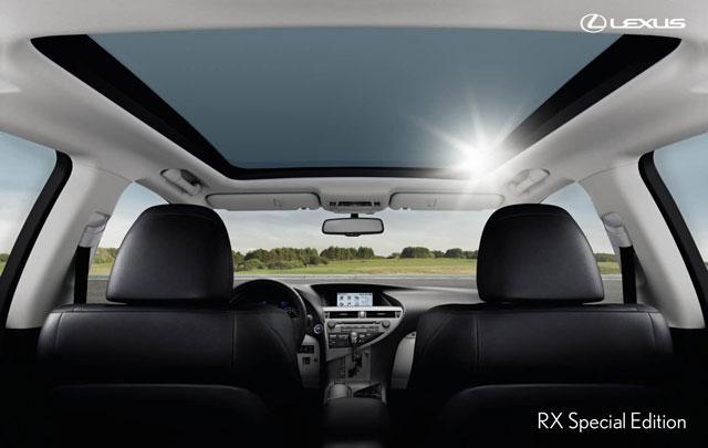 Lexus RX 450h Special Edition Europe Interior