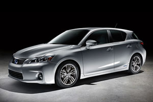 Lexus CT 200h in Playboy Car of the Year