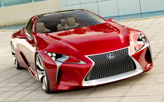 Lexus LF-LC Desktop Wallpaper Front