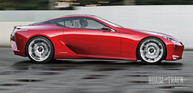 Lexus LF-LC in Motion