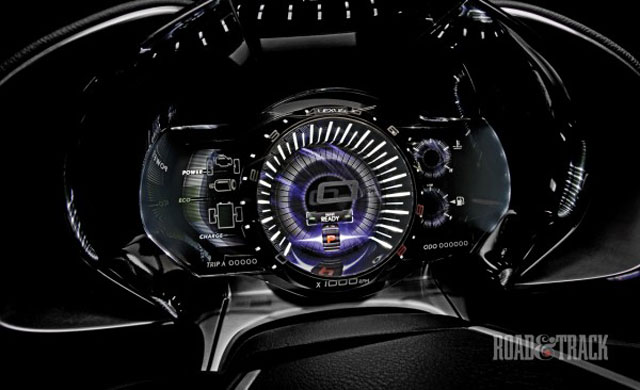 Lexus LF-LC Instrument Panel