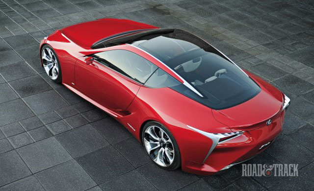 Lexus LF-LC Top Down