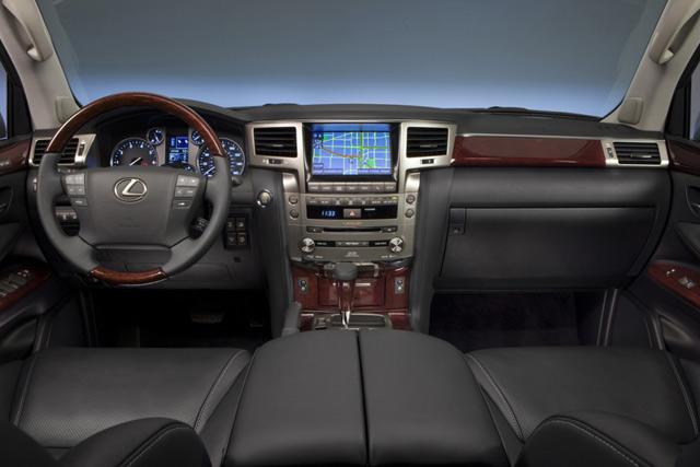 2013 Lexus LX 570 Interior