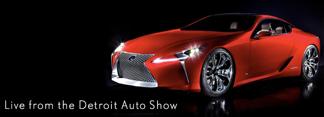 Lexus Live at Detroit Auto Show