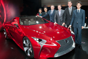 Lexus LF-LC Calty Designers