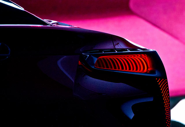 Lexus LF-LC Tail Lights