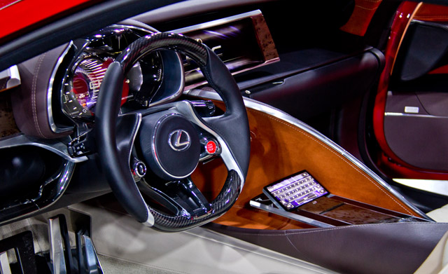 Lexus Lc F >> Lexus LF-LC Interior Photo Gallery | Lexus Enthusiast