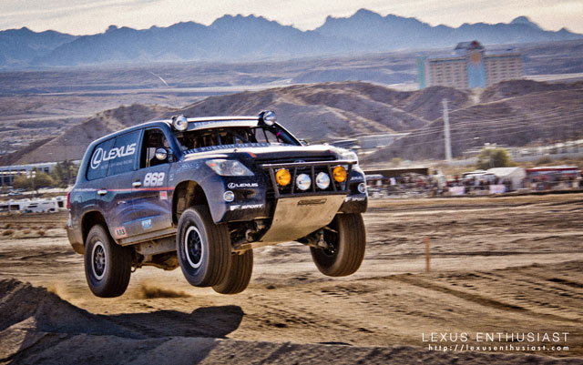 Lexus LX 570 Joe Bacal Jumping