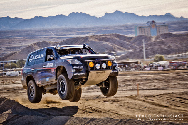 Lexus LX 570 Joe Bacal Jumping Wallpaper