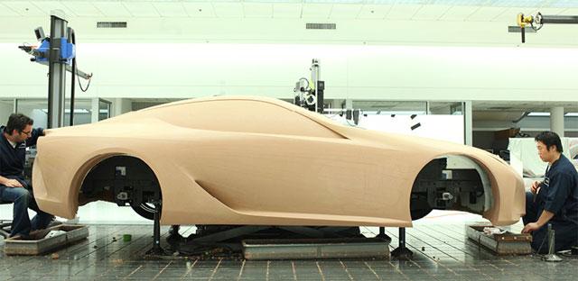 Building the Lexus LF-LC