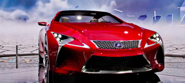 Lexus LF-LC Bumper