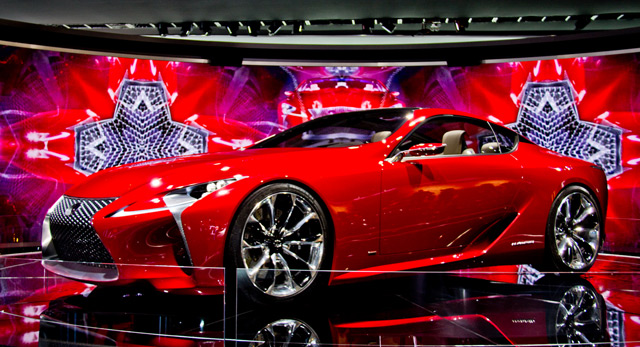 Lexus LF-LC on Display