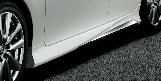 Lexus GS Modellista Side Skirt