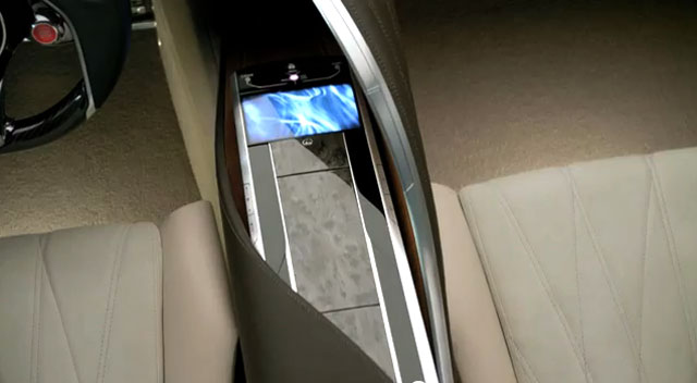 Lexus LF-LC Center Console