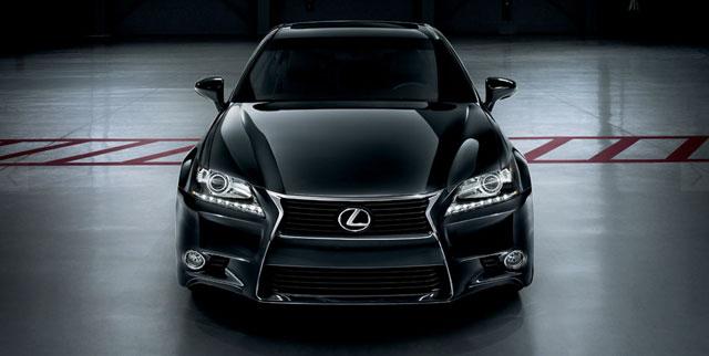 Lexus GS in Obsidian