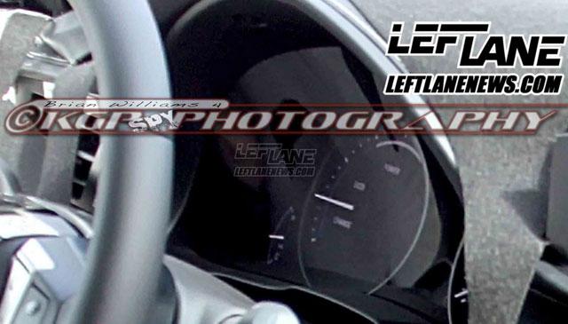 2013 Lexus ES Hybrid Instrument Panel
