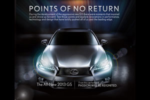 Lexus Points of No Return Facebook App