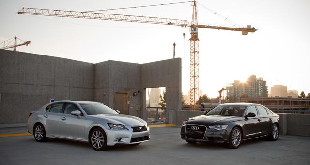 2013 Lexus GS 350 vs. 2013 Audi A6