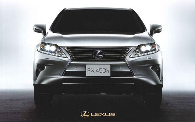 2013 Lexus RX Front Grille