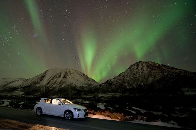 Lexus CT 200h Northern Lights