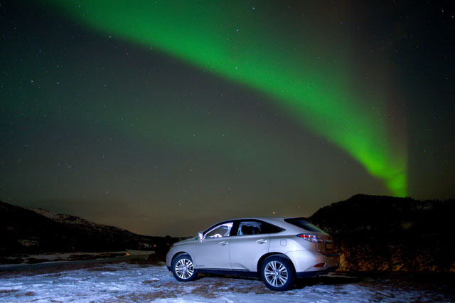 Lexus RX 450h Northern Lights